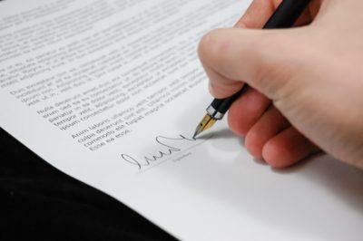 contratti con una sola firma